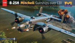 HK Models 01E037 B-25H Mitchell Gunships over CBI 1/32
