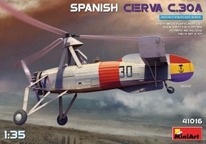 Miniart 41016 Spanish Cierva C.30A 1/35