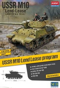 Academy 13521 USSR M10 Lend Lease 1/35