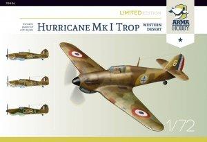 Arma Hobby 70026 Hurricane Mk.I trop Western 1/72
