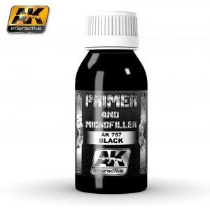 AK Interactive AK 757 Black Primer and Microfiller