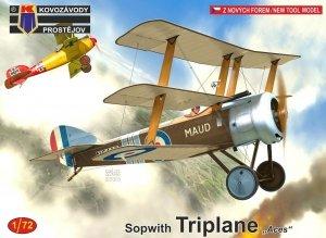 Kovozavody Prostejov KPM0183 Sopwith Triplane Aces  1/72