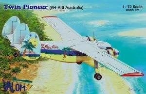 Valom 72144 Scottish Aviation Twin Pioneer (VH-AIS Australia) 1/72