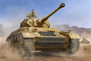 Trumpeter 00919 German Pzkpfw IV Ausf.F2 Medium