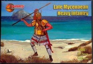 Mars 72085 LATE MYCENAEAN HEAVY INFANTRY 1250-1300 B.C. Figure Set (1:72)