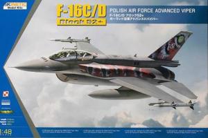 Kinetic K48076 F-16C/D Polisch Air Force Tiger Meet 2013/2014 1/48