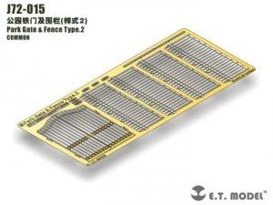 E.T. Model J72-015 Park Gate & Fence Type.2 1/72