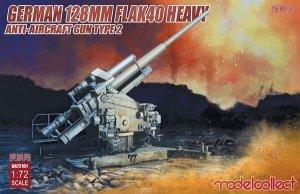 Modelcollect UA72101 German 128mm Flak 40 Heavy Anti-Aircraft Gun Type 2 1/72