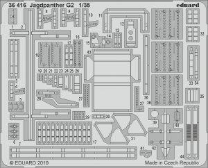 Eduard 36416 Jagdpanther G2 1/35 TAKOM