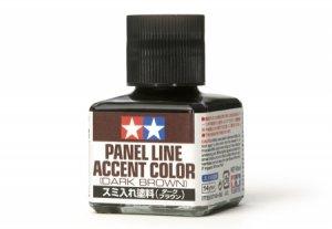 Tamiya 87140 Panel Line Accent Color Dark Brown 40ml