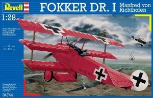 Revell 04744 Fokker Dr.I Richthofen (1:28)