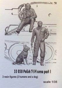 Glowel Miniatures 35030 Polish T-34 crew part 1 1/35