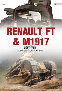 Kagero 0029 Renault FT & M1917 Light Tank EN