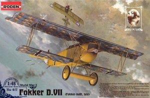 Roden 417 Fokker D.VII Fokker built, late