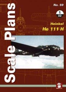 Stratus 58167 Scale Plans No. 59: Heinkel He 111 H 1/32