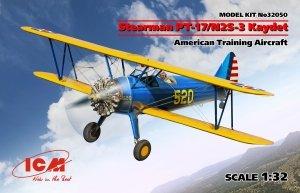 ICM 32050 Stearman PT-17/N2S-3 Kaydet , American Training Aircraft ) 1/32