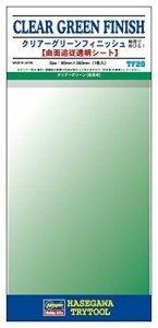 Hasegawa TF20 Clear Green Finish 1 Sheet 90 X 200mm