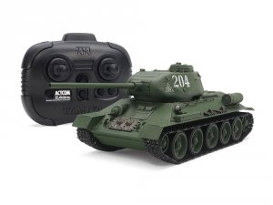 Tamiya 48216 Russian Medium Tank T-34-85 (w/Control Unit) 1/35