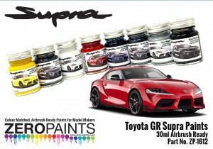 Zero Paints ZP-1612 Toyota GR Supra Prominence Red Paint 30ml