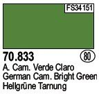 Vallejo 70833 German Cam. Bright Green (80)