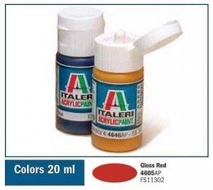 Italeri 4605 GLOSS RED 20ml