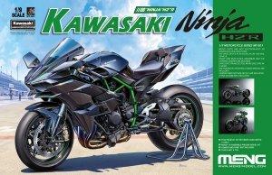 Meng Model MT-001S Kawasaki Ninja H2R (Pre-colored Edition) (1:9)