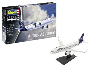 Revell 63942 Airbus A320neo Lufthansa New Livery Model Set 1/144