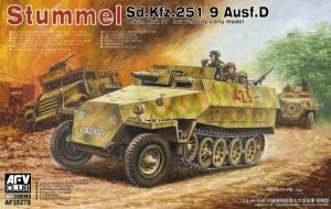 AFV Club 35278 Sd.Kfz. 251/9 Ausf. D early type 1/35