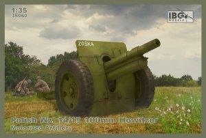 IBG 35060 Polish Wz. 14/19 100mm Howitzer - Motorized Artillery  1/35