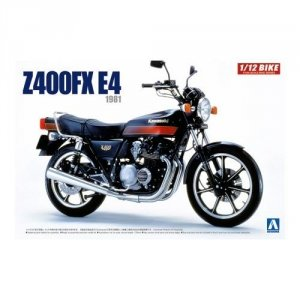 Aoshima 05429 Kawasaki Z400FX E4 1/12