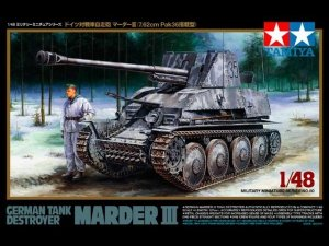 Tamiya 32560 German Tank Destroyer Marder III (1:48)