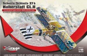 Mirage Hobby 481308 Schusta/Schlasta 27b Halberstadt CL.II,Middle production batch (1:48)