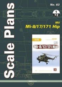 Stratus 58563 Scale Plans No. 63 Mil Mi-8/17/171