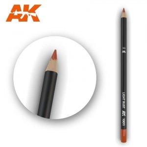 AK Interactive AK 10011 Watercolor Pencil LIGHT RUST