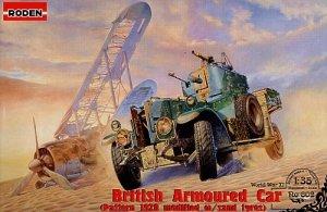 Roden 802 British Aroured Car Rolls-Royce Pattern 1920 with sand tyres (1:35)