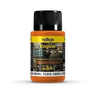 Vallejo 73816 Engine Effects - Diesel Stains 40 ml
