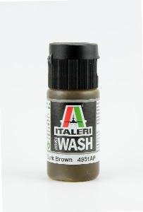 Italeri 4951 Model Wash: DARK BROWN 20ml