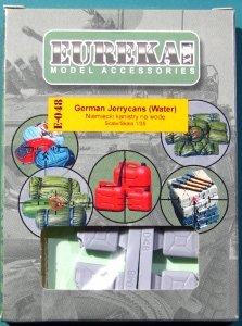 EUREKA XXL E-048 German Jerrycans Water (4 pcs) 1/35