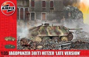 Airfix 0353 Jagdpanzer 38(t) Hetzer 'Late Version' 1/35