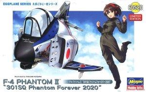 Hasegawa 60520 Eggplane F-4 Phantom II 301SQ Phantom Forever 2020