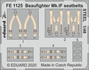 Eduard FE1125 Beaufighter Mk.IF seatbelts STEEL REVELL 1/48