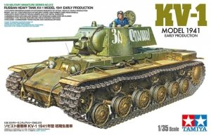 Tamiya 35372 Russian Heavy Tank KV-1 Model 1941, Early Production 1/35