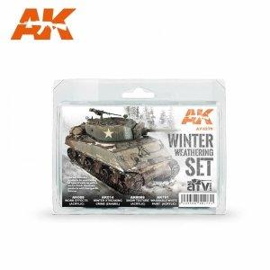 AK Interactive AK 4270 WINTER WEATHERING SET