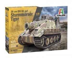 Italeri 6573 38cm RW 61 auf Sturmmoser Tiger 1/35