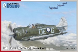 Special Hobby 72426 CAC CA-19 Boomerang 'Jungle Scouts' 1/72