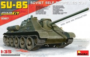 MiniArt 35187 SU-85 Soviet Self-Propelled Gun Mod.1943 Mid Production Interior Kit 1/35