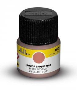 Heller 9070 070 Brick Red - Matt 12ml