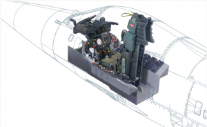 Italeri 2991 F-104G Cockpit 1/12