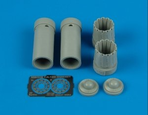 Aires 7186 F/A-18C exhaust nozzles - opened 1/72 HASEGAWA
