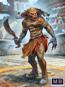 "Master Box 24057 Beastorian (any one of the many beast like races) Champion – ""Chuck"" AKA Nifrath 1/24"
